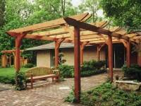 Cedar Entry Arbor